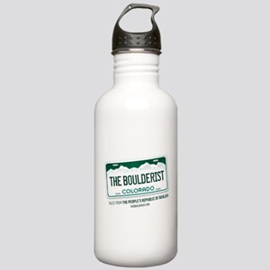 LOGO, BOULDER, COLORADO, PODCAST Water Bottle