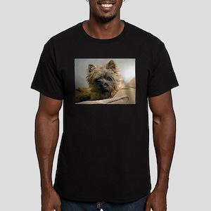 Pensive Cairn Terrier T-Shirt