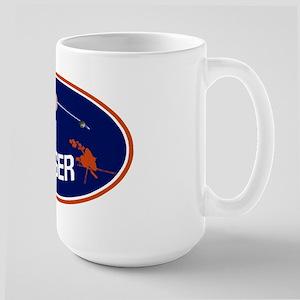 Voyager Program Logo Large Mug