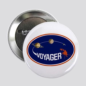 "Voyager Program Logo 2.25"" Button"