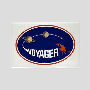 Voyager Program Logo Rectangle Magnet Magnets