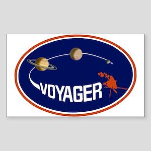 Voyager Program Logo Sticker (Rectangle 10 pk)