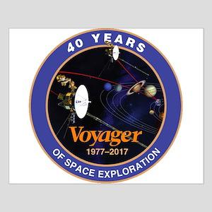 Voyager At 40! Small Poster