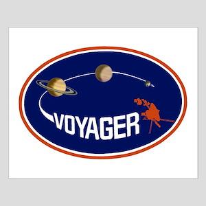 Voyager Program Logo Small Poster