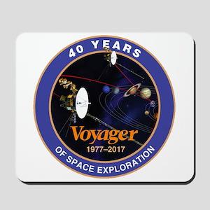 Voyager At 40! Mousepad