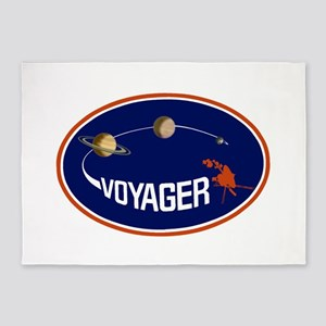 Voyager Program Logo 5'x7'Area Rug