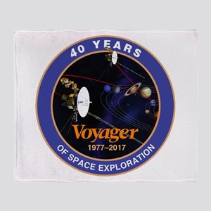 Voyager At 40! Throw Blanket