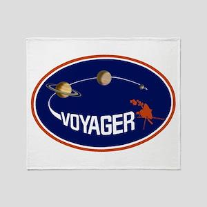 Voyager Program Logo Throw Blanket
