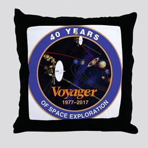 Voyager At 40! Throw Pillow