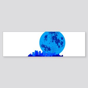 Blue City Bumper Sticker