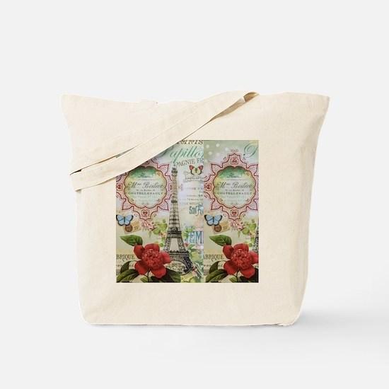 Paris Journal Tote Bag