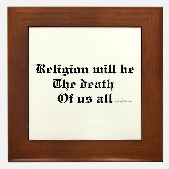 Religion Framed Tile