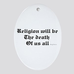 Religion Oval Ornament