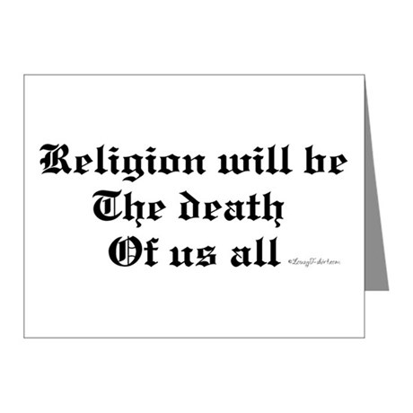 Religion Note Cards (Pk of 20)