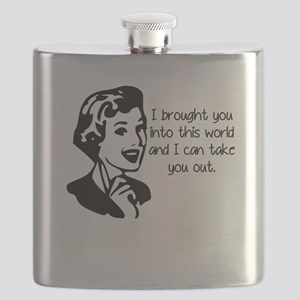 I Brought You Into The World Flask