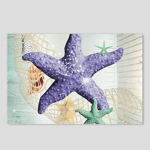 Beach Treasure of The Sea Postcards (Package of 8)
