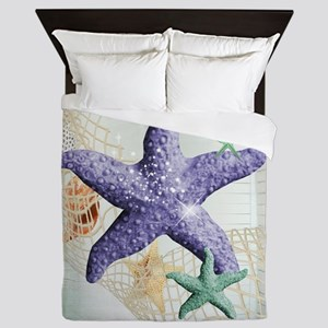 Beach Treasure of The Sea Queen Duvet