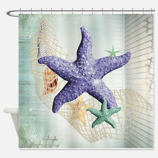 Beach Treasure of The Sea Shower Curtain
