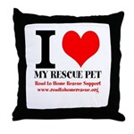 Rth Throw Pillow
