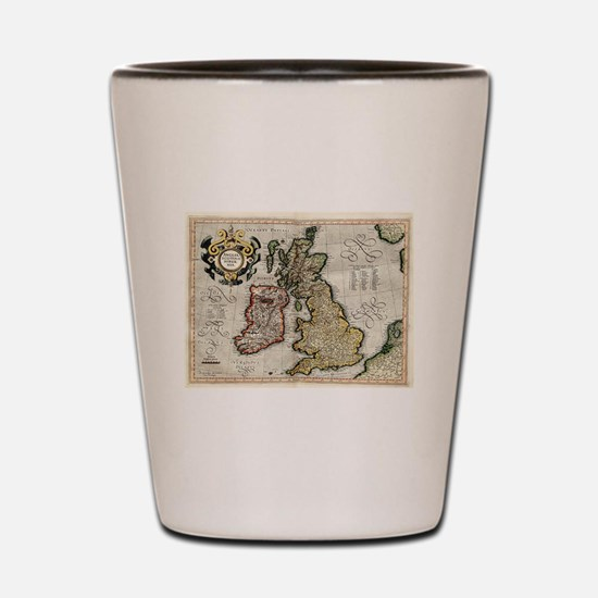 Cute England history Shot Glass