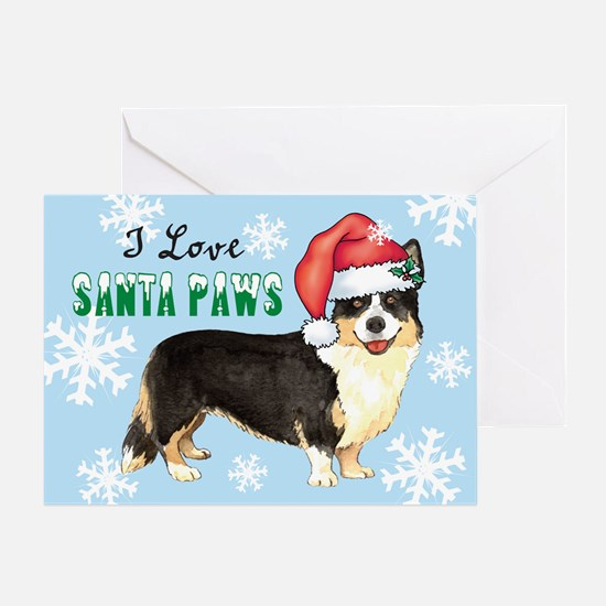 Holiday Corgi Greeting Card