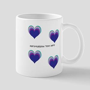 Stacked Hearts Mug