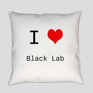 I Heart Personalized Everyday Pillow