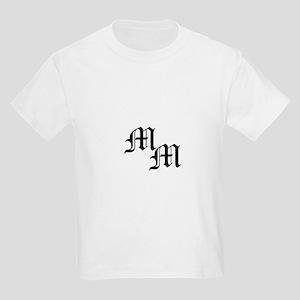 Mongram in Black Kids Light T-Shirt