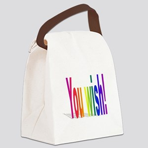 You Wish! Canvas Lunch Bag