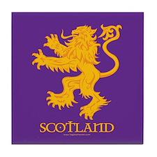 Lion GP Scotland Tile Coaster