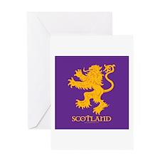 Lion GP Scotland Greeting Card