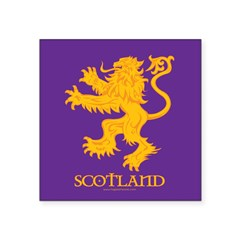 Lion GP Scotland Square Sticker 3