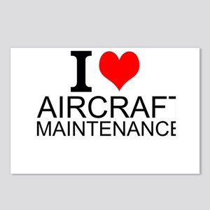 I Love Aircraft Maintenance Postcards (Package of