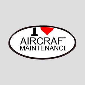 I Love Aircraft Maintenance Patch