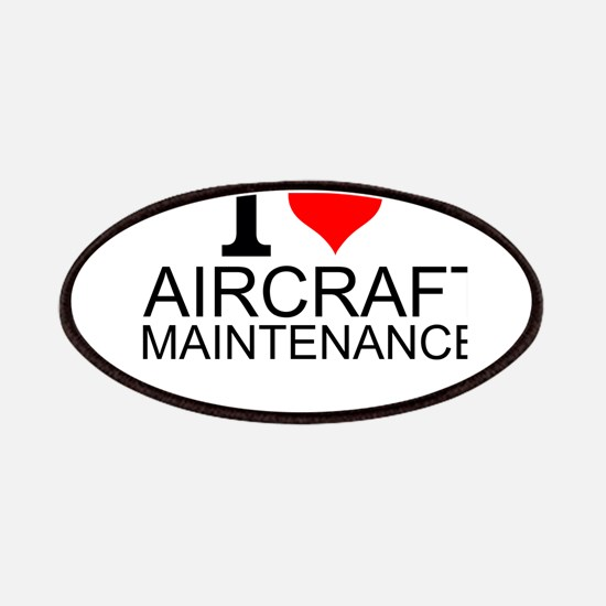 I Love Aircraft Maintenance Patch