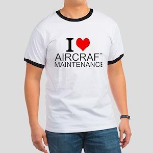 I Love Aircraft Maintenance T-Shirt