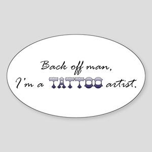 Tattoo Artist Sticker