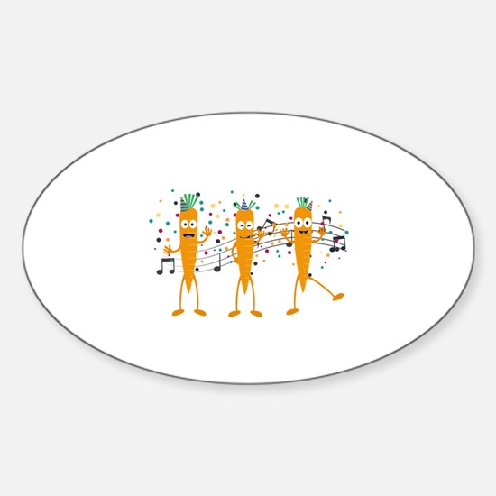 Party carrots Decal