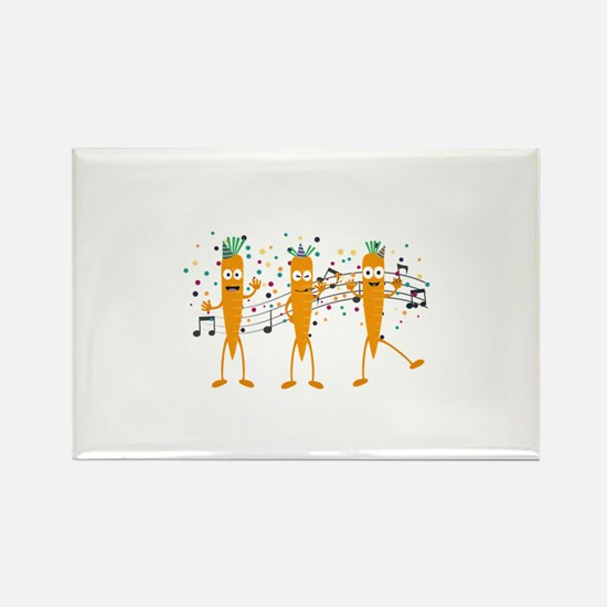 Party carrots Magnets