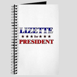 LIZETTE for president Journal