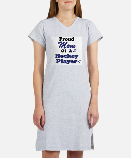 Mom 2 Hockey Players T-Shirt