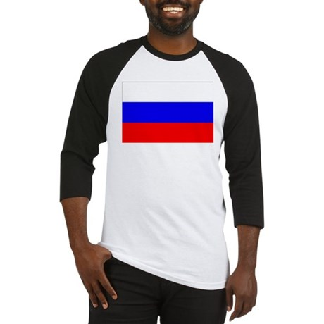 Russian Flag Baseball Jersey