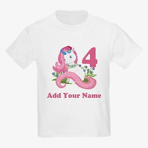 Unicorn Birthday Kids Light T-Shirt