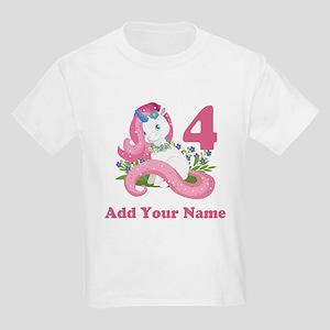 Unicorn Birthday Kids Light T Shirt