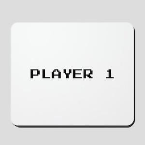 PLAYER 1 Mousepad