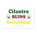 Cilantro Ruins Everything Mini Poster Print