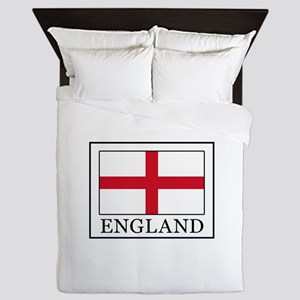 England Queen Duvet