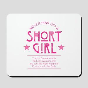 Short Girl Mousepad