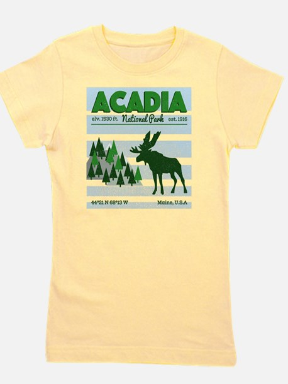 Cute Acadia national park Girl's Tee