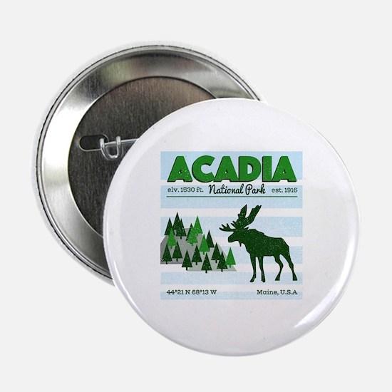 "Cute Acadia national park 2.25"" Button"